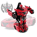 NEW Rastar RC Transforming Car 1:14 - Orange