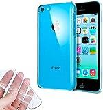 TBOC® iPhone 5C Clear Ultra Thin TPU Silicone Gel Case Cover Soft Jelly Rubber Skin