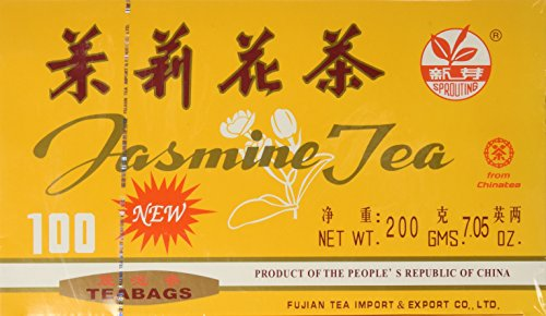 Sprouting Jasmine Green Tea 100 Bags