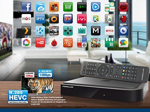 Formuler Z Prime 4K IPTV Media Player Android Kitkat TV Streamer