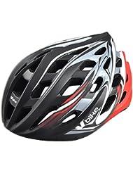 V Bike - Casco v bike mtb/road 24 in mould, talla l (58-61cm), color negro