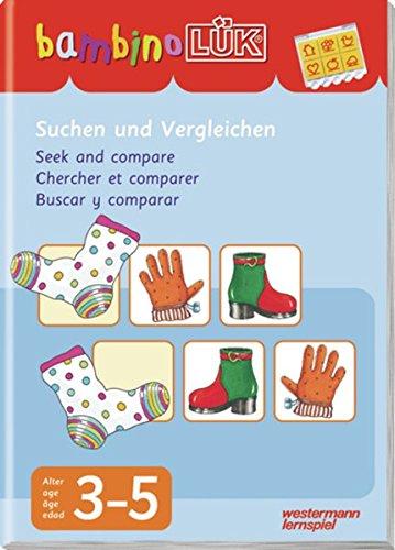 bambinoLÜK-System: bambinoLÜK: Suchen und Vergleichen: 3 - 5 Jahre