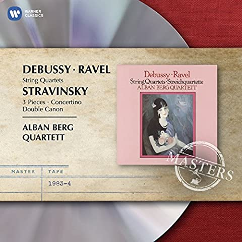Emi Masters -  Ravel & Debussy: String Quartets & Stravinsky: 3 Pieces, Concertino & Double Canon