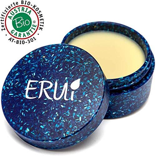 ERUi® Naturkosmetik Bio Gesichtscreme Damen für trockene Haut - Reichhaltige Pflegecreme für Gesicht, Augen, Hals & Lippen - Vegan, ohne Parfum, Plastik, Wasser, Palmöl und Parabene (1 x 30 g)