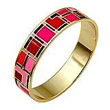 Armband Hohe Qualität Emaille. Schöne Farben und Mustern aktuellen. Trés Trend ME27