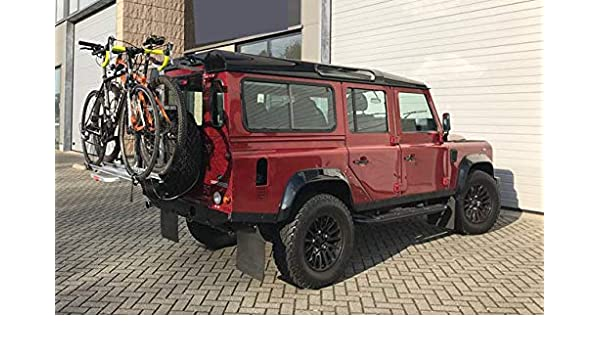 Fabbri Spare Tire Bike Rack Off-Road Vehicles 4x4 Bicycle stand for all terrain vehicles