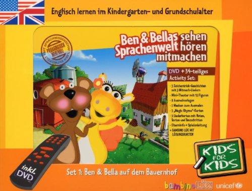 Ben & Bellas Sprachenwelt - Englisch lernen kinderleicht, Set 1: Auf dem Bauernhof