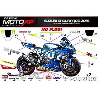 Aufkleber fur Motorrad grafiken Suzuki Gsx-R 1000 2009 2010 2011 2012 2013 2014 2015 2016 ED15