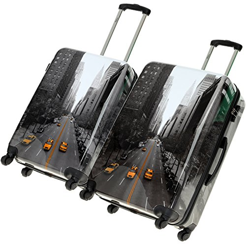 FABRIZIO-Hartschalenkoffer-Koffer-50-oder-60-oder-70-cm-Koffergurt-Fligkeitenbeutel