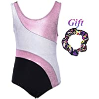 Hougood Justaucorp Gymnastique Fille Sans Manches Ballet Justaucorps Danse  Body Athletic Dancewear Danse Costumes Dancewear Âge 674ea4b58cd