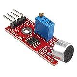 Haljia Modul für Arduino Raspberry Pi AVR PIC, Hochempfindliches Mikrofon, Sound-/ Stimmen-Erkennungs-Sensor