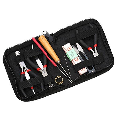Schmuck-reparatur Liefert (Sharplace Schmuckherstellung Werkzeugsatz 11pcs Perlen hand werkzeuge Mit Zangen)