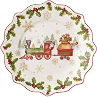 Villeroy & Boch 14-8626-2640 Plato del año 2017 Annual Christmas Edition, para Navidad, 24 cm, Porcelana,, 25.5x3.2x25.5 cm