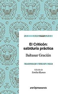 El criticón: sabiduría práctica par Baltasar Gracián