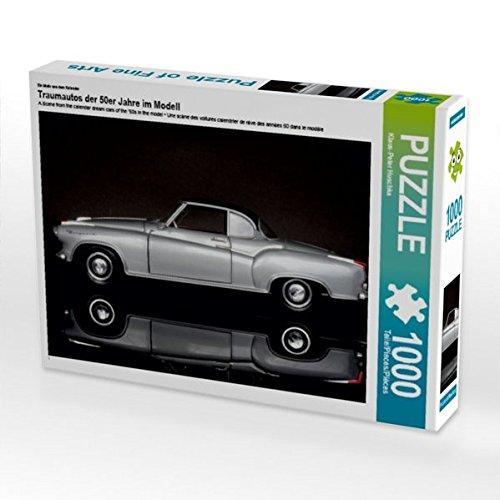 Ein Motiv aus dem Kalender Traumautos der 50er Jahre im Modell 1000 Teile Puzzle quer Preisvergleich