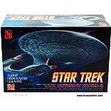 Round 2 AMT Cadet Series - Star Trek U.S.S. Enterprise NCC-1701-D (1/2500 scale model) AMT662 snap together model kit by TW Kits