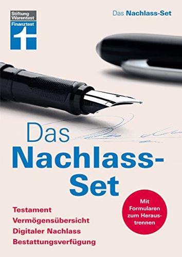 Preisvergleich Produktbild Das Nachlass-Set: Testament, Vermögensübersicht, Digitaler Nachlass, Bestattungsverfügung