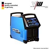 STAHLWERK Schweißgerät AC/DC WIG 200 S Puls Inverter ALU WIG ARC MMA STICK Elektrode