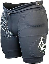 Demon Flexforce Pro shorts crashpants black men-XXL