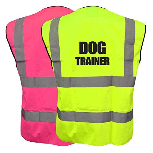 Dog TRAINER Hi Viz-Gilet catarifrangente ad alta visibilità per cani K9-Gilet di sicurezza alta visibilità, (Brooks Trainer)