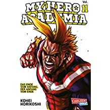 My Hero Academia 11: Die erste Auflage immer mit Glow-in-the-Dark-Effekt auf dem Cover! Yeah!