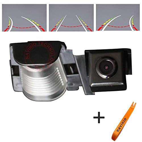 Dynavsal Auto Parking Assistance 170 Degree HD CCD Intelligent Reversing Trajektorie Tracks Rückansicht Kamera Reverse Backup Kamera für Jeep Wrangler