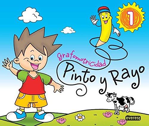 Pinto y Rayo 1. Grafomotricidad - 9788444173917