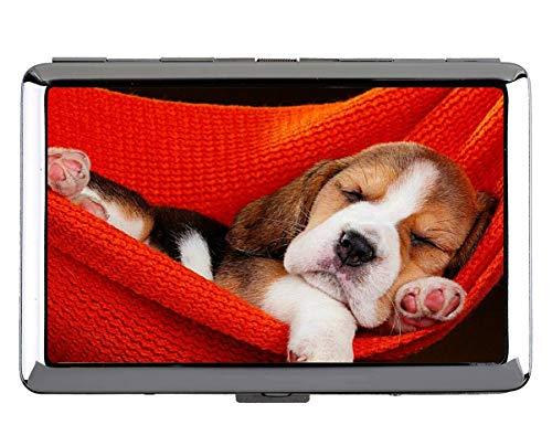 Hard Box Full Pack Zigarettenetui, Tier Welpen Beagle Hund Business Credit ID-Kartenhalter (King Size) - Louis Vuitton Köln