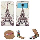 Handy Hülle für - Archos 50d Neon- Flip Tasche mit