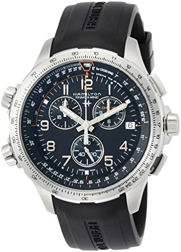Hamilton Khaki Aviation h77912335Señor Planeador Cronógrafo Reloj