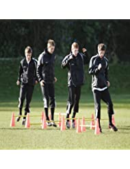 Atletas de Fútbol de precision Training Agility Set de conos para RRP £57