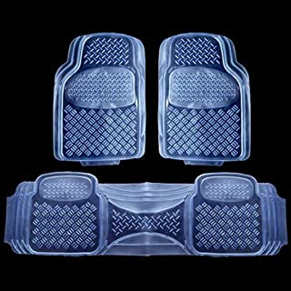 Gummi Transparente Bodenmatte Auto-Matte Allwetter-Sicherheit Rutschfeste Material Universal Benutzerdefinierte Bodenmatte,Clear