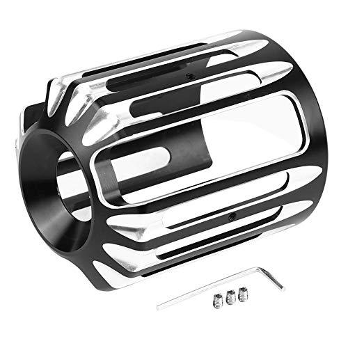 Duokon Copri Filtro Olio Moto CNC in Alluminio per Harley Sportster XL 883 Dyna Softail Touring Univ