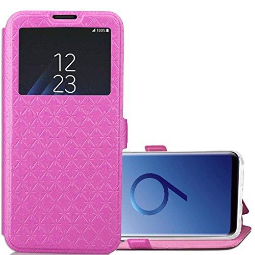 Schöne Cases & Covers Für Samsung Galaxy S9 Argyles Texture Horizontal Flip Ledertasche mit Halter & Kartensteckplätze & Anrufanzeige ID (Großauswahl : Sas1360m) Argyle-cover