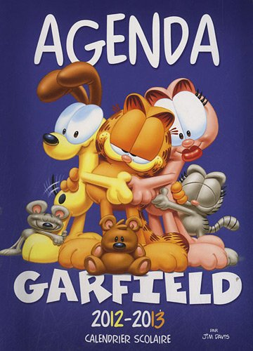 Agenda Garfield 2012-2013