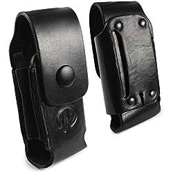 Leatherman G7_51 Étui de poche Cuir véritable Pour Leatherman Wave - Noir