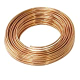 #8: 20 Meters Copper Wire - 18 Gauge (1.219 mm Diameter) - Dead Soft - 99.9% Pure Copper Wire - Without Enameled - DIY Jewellery & Artistic
