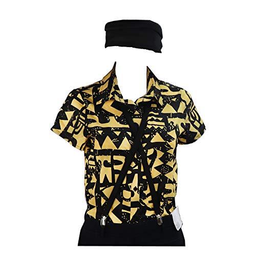 BellaPunk Damen Eleven Cosplay Shirt Costume Gelb T-Shirt Kostüm Season 3 (Damen S, Wie Gezeigt) (Kostüm Gelben T Shirt)