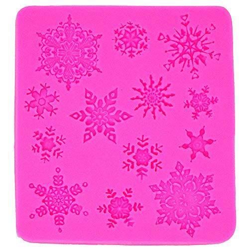 Cake Design Sternchen Schneeflocken Weihnachtsdeko