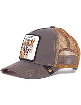 Goorin Bros Gorra de Béisbol - para Hombre Marrón Eye of The Tiger Talla única