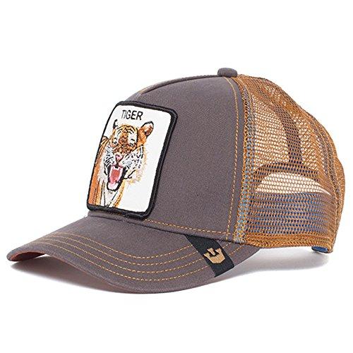 Goorin Bros. Baseball Cap für Damen und Herren, Eye of The Tiger', Brown/Braun