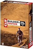 Clif Builders Bar Protein Bar Peanut Butter 68 g (Pack of 12)