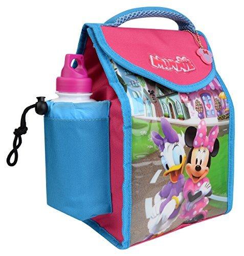 Charakter Kinder Kinder Lunchbox Tasche mit Sport Wasserflasche - wunderbare Damen, medium Minnie