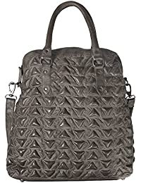 17450ff24d94e Unbekannt Billy the Kid Marokko Naima Triangle Shopper Tasche Leder 40 cm