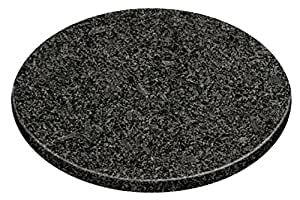 premier housewares planche d couper ronde granite noir mouchet 25 5 cm cuisine. Black Bedroom Furniture Sets. Home Design Ideas