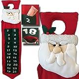 LD Weihnachten Deko Adventskalender Türhänger Kalender zum befüllen selbst füllen Weihnachts Advents