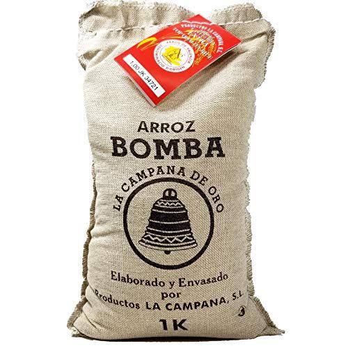Nomen: Arroz Extra Bomba - Bomba-Reis für Paella - 1kg