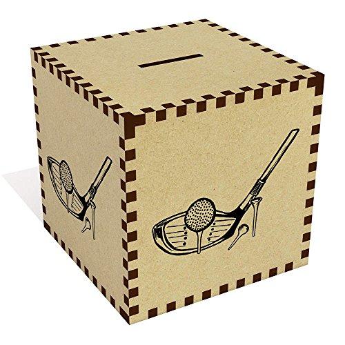 Azeeda Large  Golf Club  Money Box   Piggy Bank  MB00061714