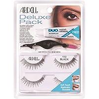 Ardell Deluxe Pack 110Black - Lote de pestañas postizas, 1par