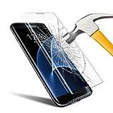 Galaxy S7 edge Protection d' Écran , innislink Films de Protection d' Écran Couverture complète Ultra Clear Anti-Rayures Incurvé en Verre Trempé pour Samsung Galaxy S7 edge -1 Pack